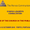 Church Leadear's Consultation - The Porvoo Communion - Porto 2019
