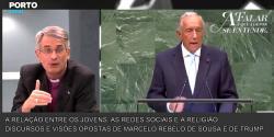 A relação entre os jovens, as redes sociais e a religião - Discurso e visões opostas de Marcelo Rebelo de Sousa e de Trump - 7/10/2018